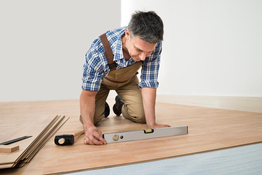 installing finished hardwood flooring