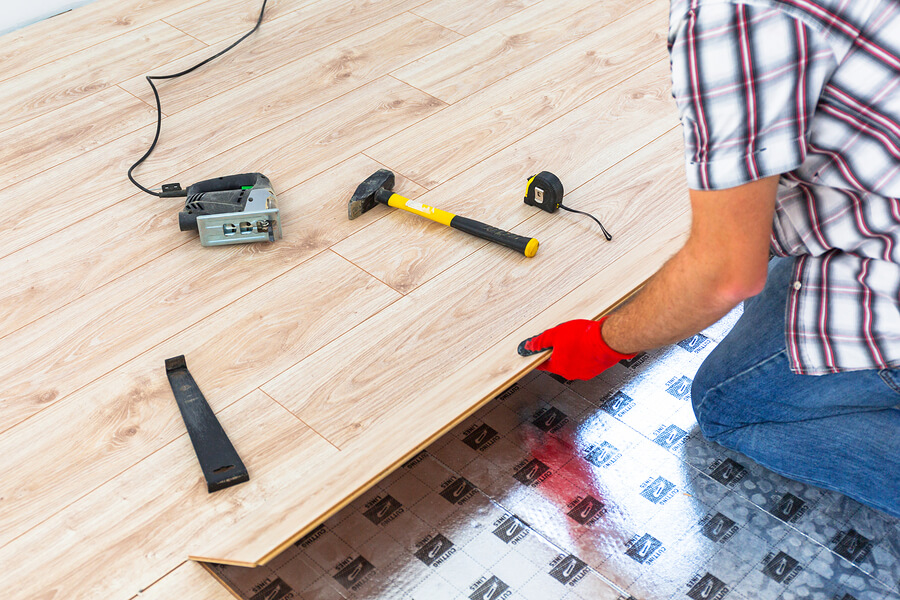measure square footage for flooring