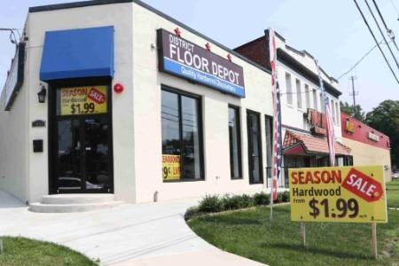 Discount Hardwood Flooring Amp Showroom District Floor Depot