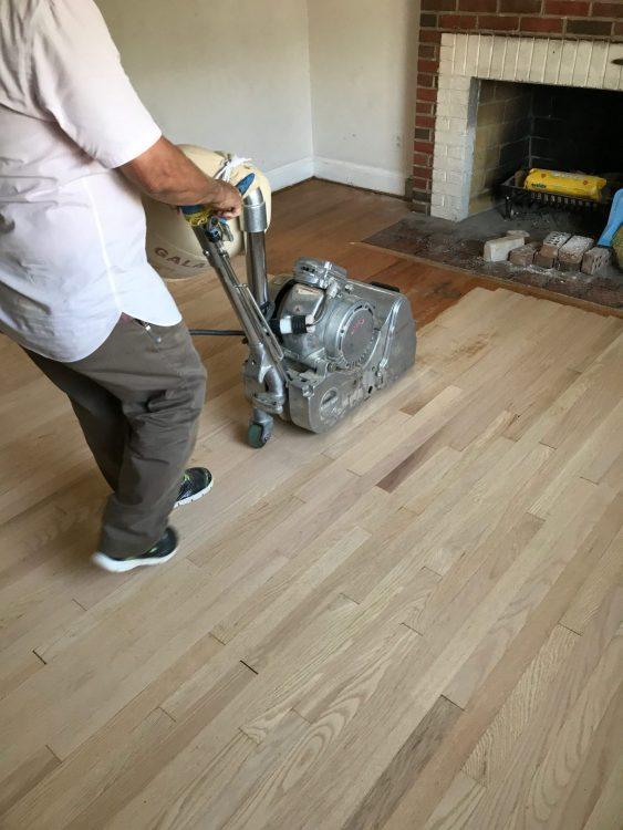 Sanding, Refinishing & Repairs 2