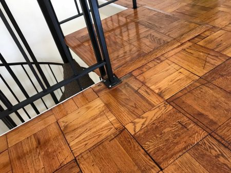"7.5"" Santee Engineered Oak Wirebrushed 21"