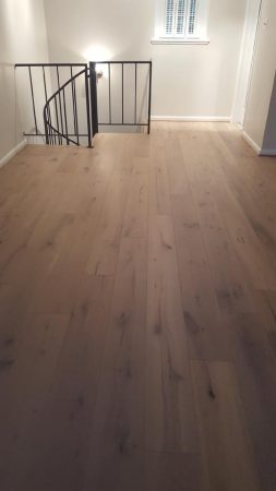 "7.5"" Santee Engineered Oak Wirebrushed 17"