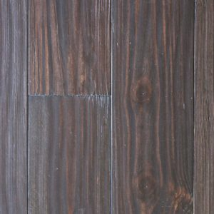 smoked pine flooring