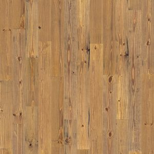 scraped amber pine flooring