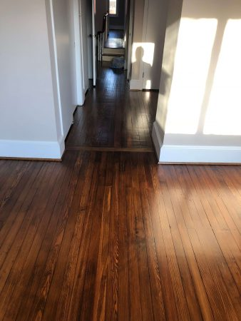 Heart Pine Restoration & Finishing 30