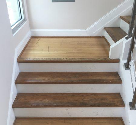 Oak Steps Refinishing 4