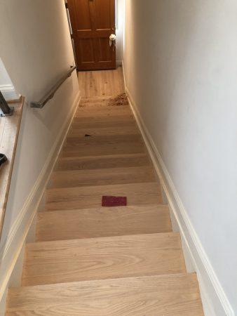 Oak Steps Refinishing 9