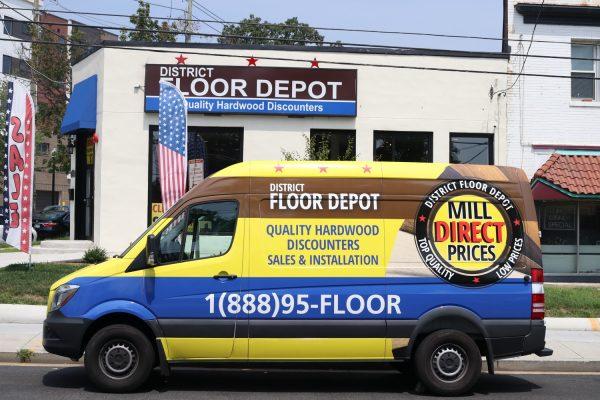 District Floor Depot Washington DC