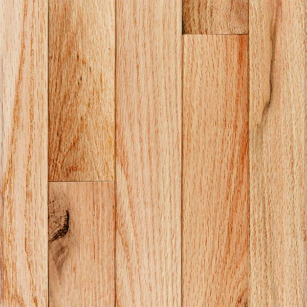 Natural Red Oak Solid 1
