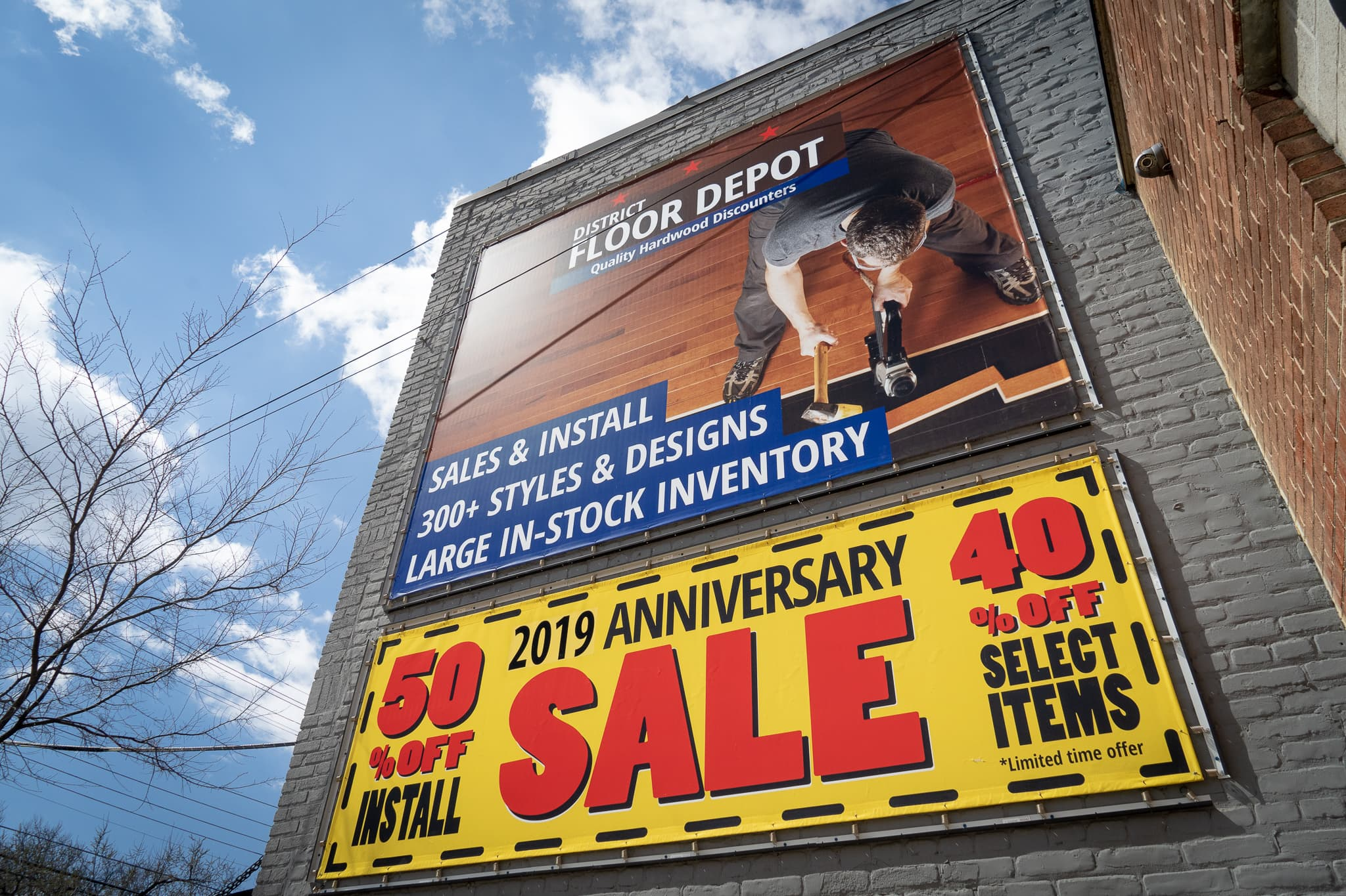 district-floor-depot-sale-banner-washington-dc