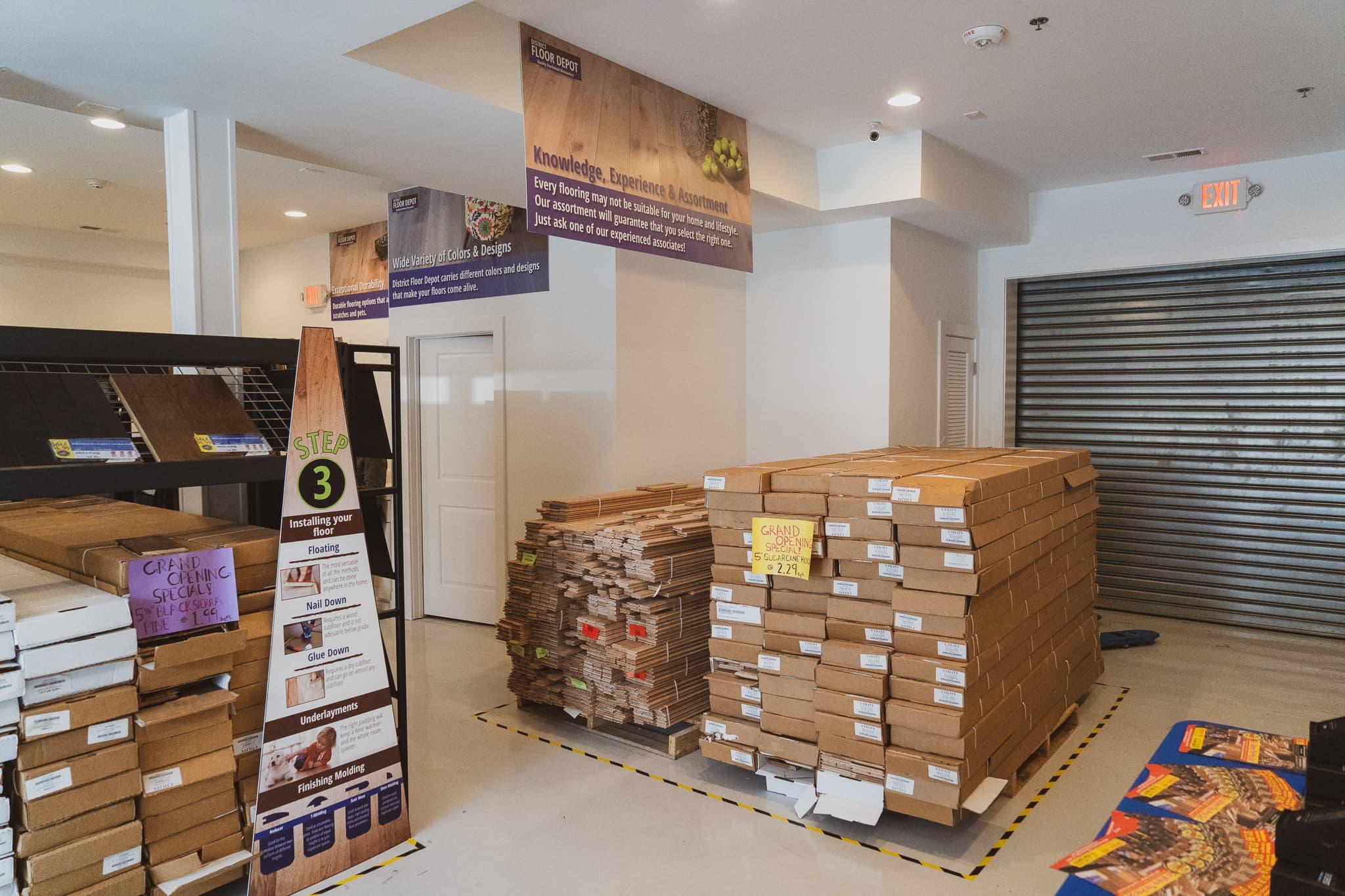 Flooring Showroom In Southeast Washington, DC 3