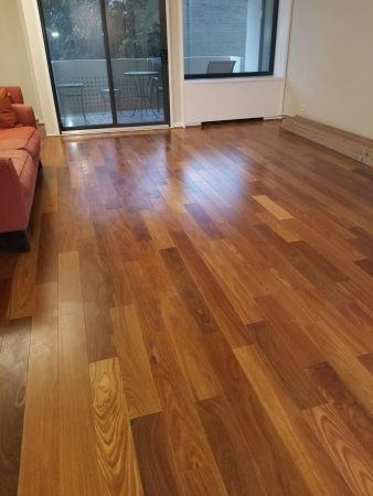 "5 1/4"" Natural Brazilian Teak Engineered 2"