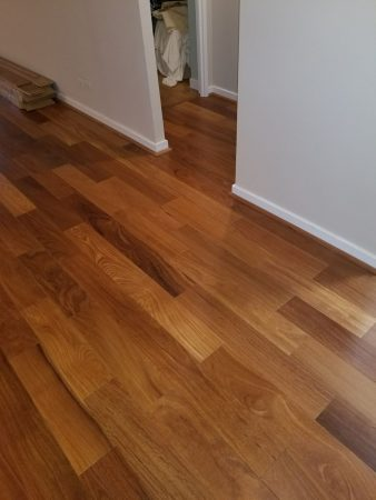 "5 1/4"" Natural Brazilian Teak Engineered 3"