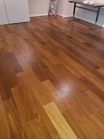 "5 1/4"" Natural Brazilian Teak Engineered 1"