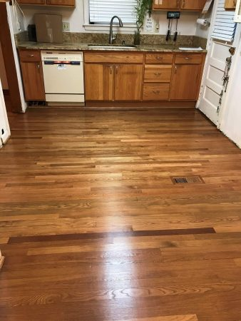 "2 1/4"" White Oak Addition & Refinish 14"