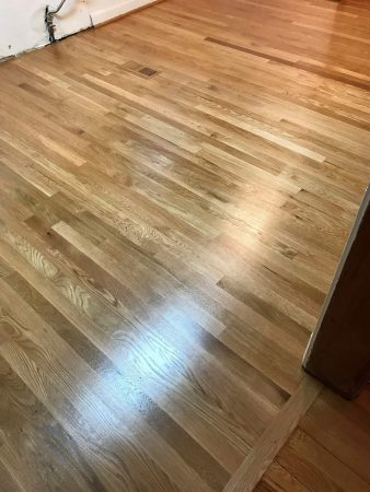 "2 1/4"" White Oak Addition & Refinish 15"