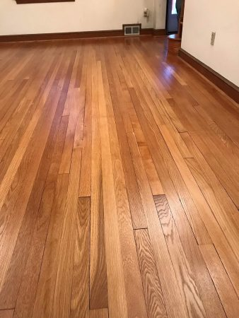 "2 1/4"" White Oak Addition & Refinish 16"