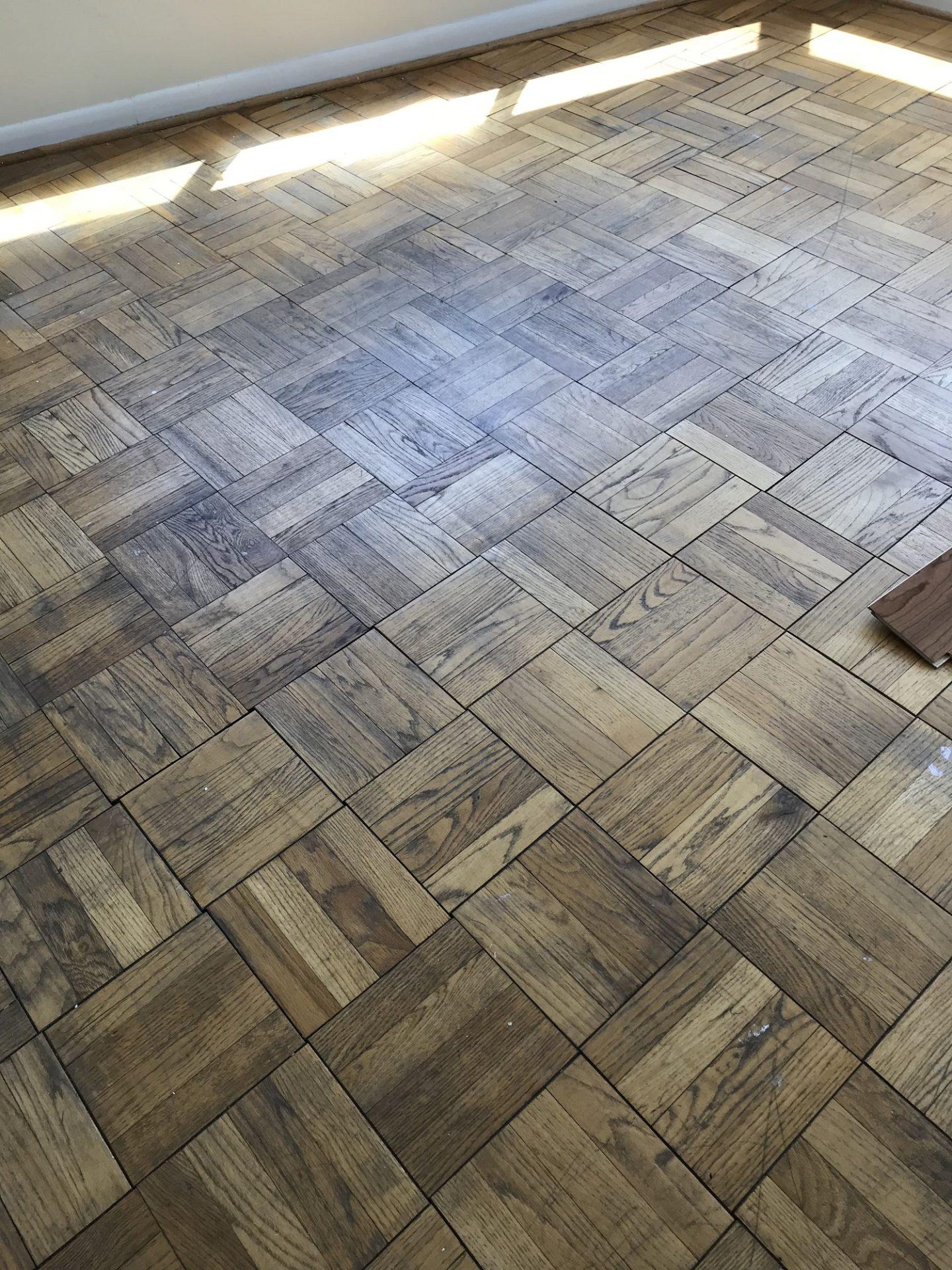 Parquet Floor Refinishing District