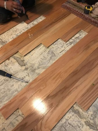 "3"" Engineered Oak Partial Replacement 17"