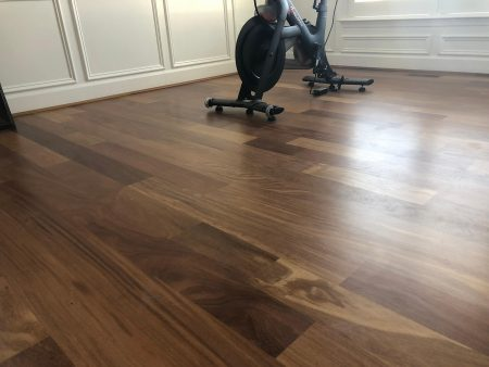 "5"" Brazilian Teak Site Finished Satin 2"