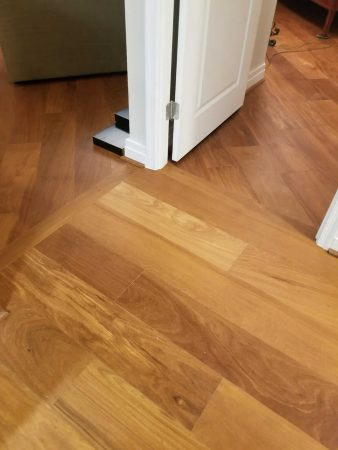 "7.5"" Natural Brazilian Teak Engineered 11"