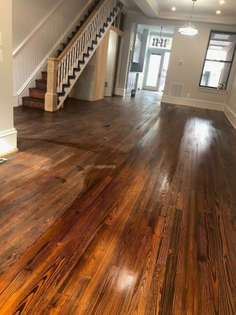 Heart Pine Restoration, Repair & Blend 12