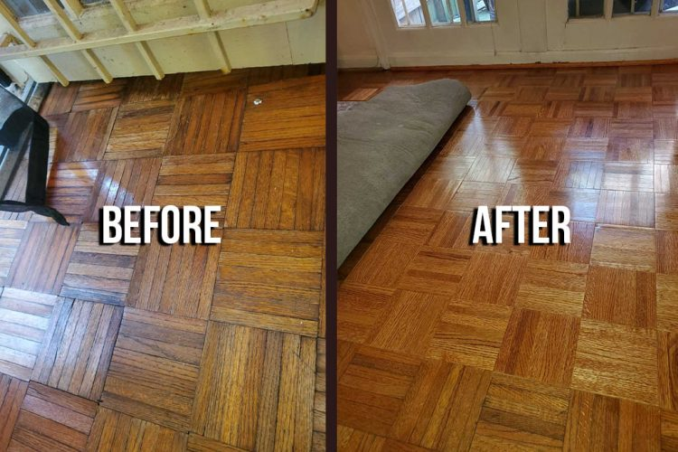 Parquet Repair & Replacement 14