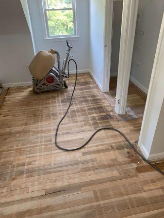 Sand & Refinish Oak 1