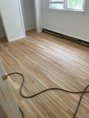 Sand & Refinish Oak 9