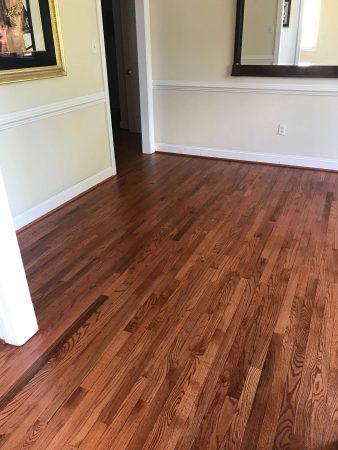 Sand & Refinish Oak Gunstock 6