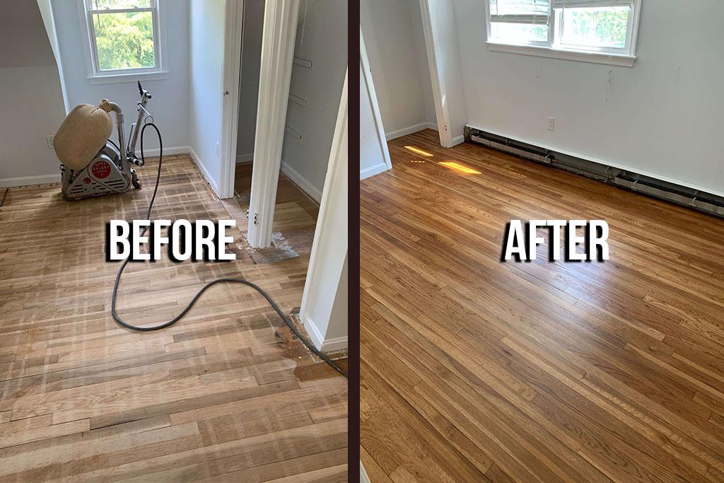 District Floor Depot - Sand Refinish Oak