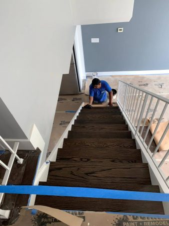 Sand & Refinish Staircase 10