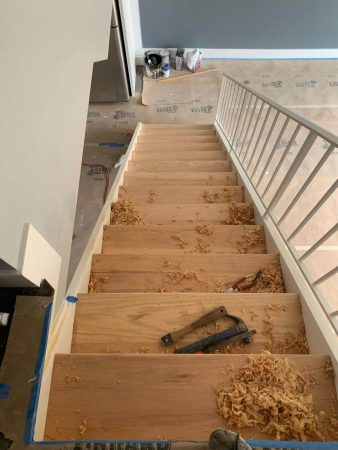Sand & Refinish Staircase 9