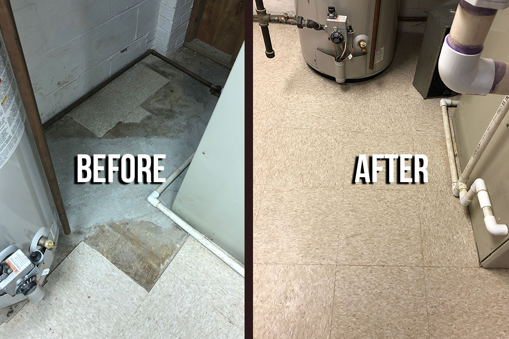 VCT Tile Repair & Replacement