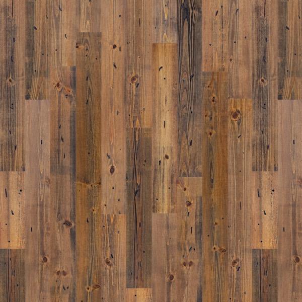 "5 1/8"" All American Burnt Sierra New Heart Pine 1"